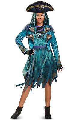 Disney Descendants 2 Uma Deluxe Child Costume w Hat Gloves Girls XL (14-16) NEW! ()
