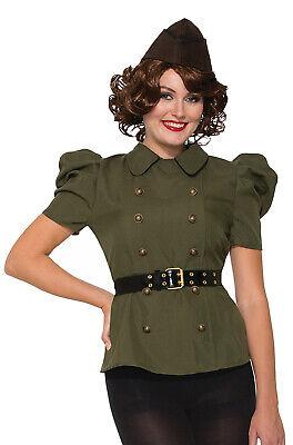Brand New 1940's Military Uniform Bombshells Women Adult Costume](1940 Costume)