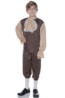 Brand New Colonial Settler Boy Child Costume