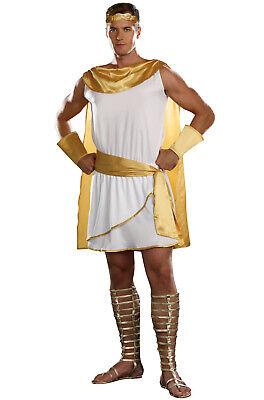 Brand New Greek God Toga Adult Halloween Costume ()