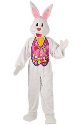 Bunny Mascot Adult Costume (X-Large) (Super Bunny-kostüm)