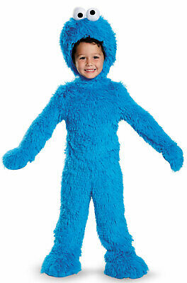 Brand New Sesame Street Cookie Monster Extra Deluxe Plush Infant/Toddler Costume - Infant Sesame Street Costumes