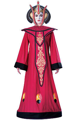 Brand New Star Wars Deluxe Queen Amidala Adult Halloween Costume - Star Wars Amidala Costumes