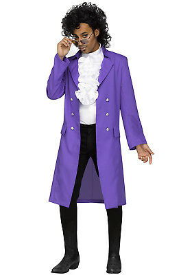 Purple Rain Costume Prince (Rockin' 80's Purple Rain Prince Adult)