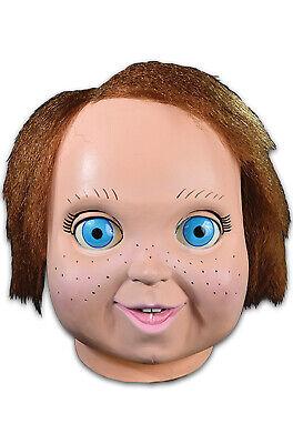 Adult Chucky Doll Mask Fancy Dress Halloween Latex Mask Accessory