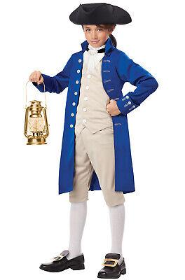 Classic Paul Revere Colonial Child Costume (Paul Revere Costume)