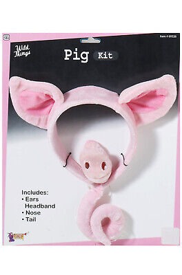 Brand New Piggy Animal Costume Kit