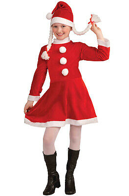 Lil Miss Santa's Helper Girls Child Costume (Small)](Santa Costumes For Girls)
