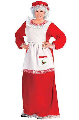 Mrs Santa Claus Plus Size Halloween Costume