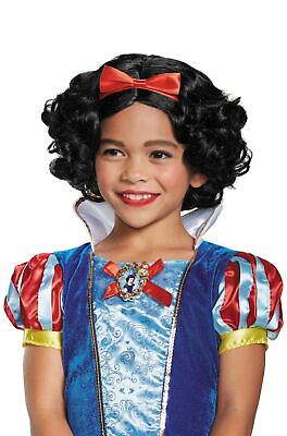 Snow White Wig Child (Brand New Disney Princess Snow White Deluxe Child)