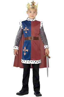 Brand New Renaissance Medieval King Arthur Boy Child Costume](Child King Costume)