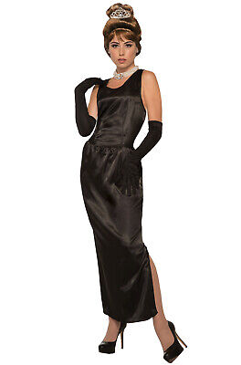 Brand New Vintage Audrey Hepburn Breakfast at Tiffany's Adult - Halloween Costume Breakfast At Tiffany's