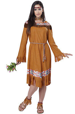 Brand New Classic Indian Maiden Native American Pocahontas Adult Women Costume (Pocahontas Adult Costumes)