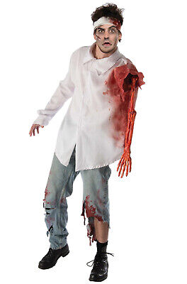 Brand New Zombie Apocalypse Attack Shirt Adult Costume