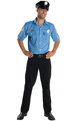 Police Officer Cop Men Adult - Policeman Costume For Men