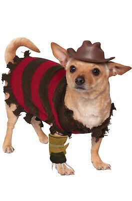 on Elm Street Freddy Krueger Pet Dog Costume (Hund Freddy Krueger Kostüm)