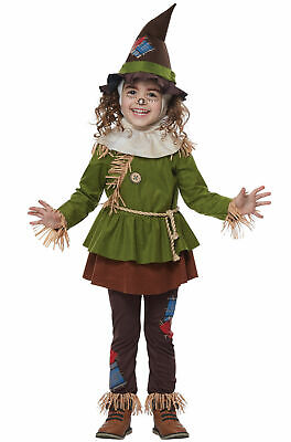 Scarecrow of Oz Toddler Costume Green/Brown NEW](Toddler Scarecrow Costume)