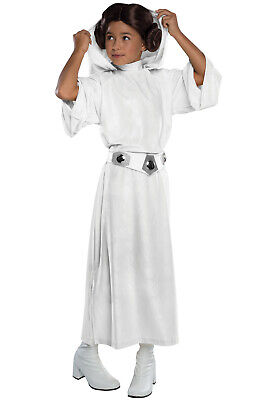 Brand New Star Wars Princess Leia Deluxe Child Costume