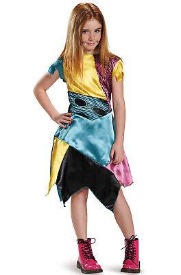 Brand New The Nightmare Before Christmas Sally Classic Child Costume - Nightmare Before Christmas Sally Costume