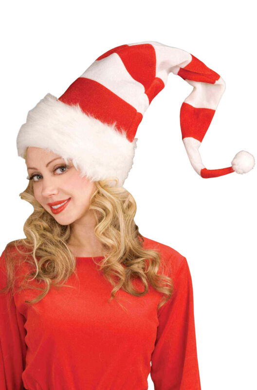Brand New Red and White Santa Christmas Hat