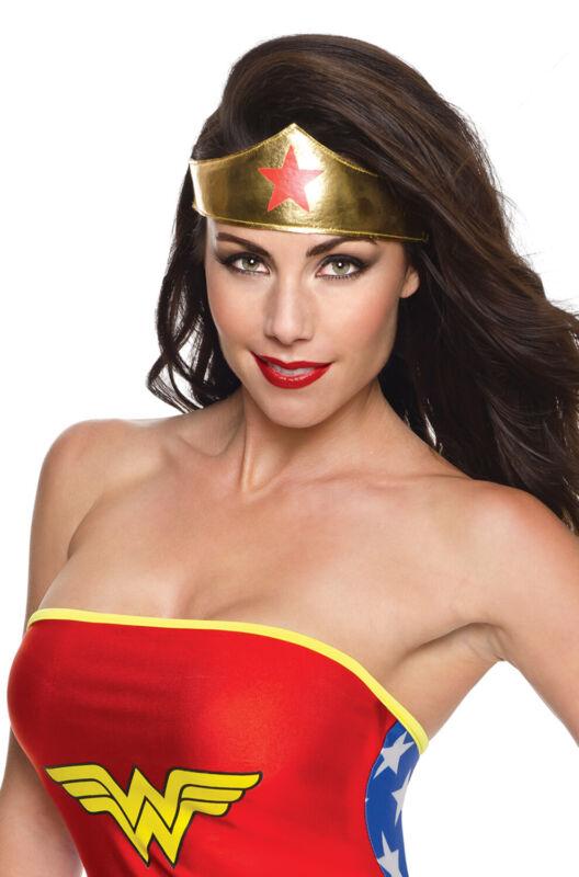 Brand New Superhero Wonder Woman Tiara Crown Accessory