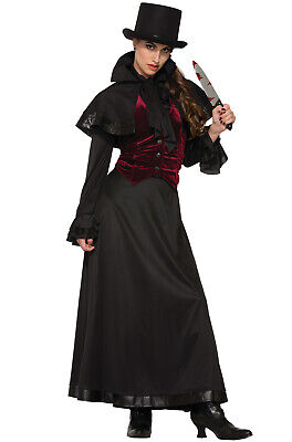 Jackie the Ripper Victorian Murderer Adult - Murderer Costume