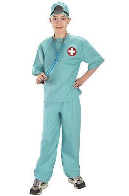 Doctor Surgical Scrubs Child Costume - Child Scrubs Costume