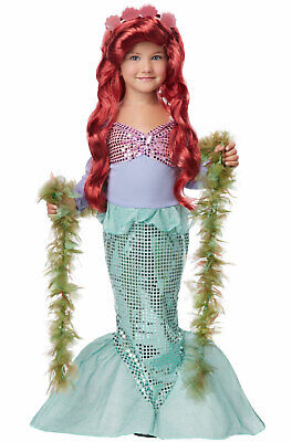 Brand New Lil' Mermaid Ariel Sea Princess Toddler Halloween Costume](Toddler Mermaid Halloween Costume)