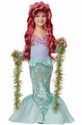 Brand New Lil' Mermaid Ariel Sea Princess Toddler Halloween Costume