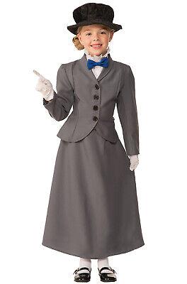 Brand New English Nanny Mary Poppins Child Costume (Large) - Mary Poppins Child Costume