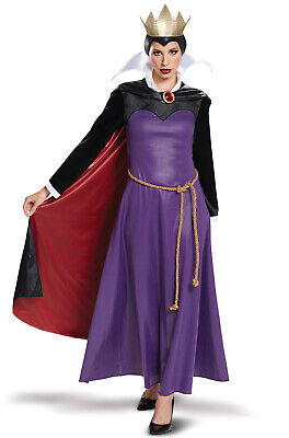 Brand New 2018 Disney Snow White Evil Queen Deluxe Adult Costume