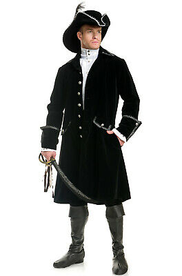 Distinguished Pirate Men Outfit Adult Costume