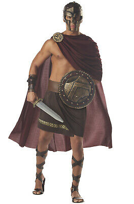 Brand New Adult Men Spartan Warrior 300 Gladiator Costume