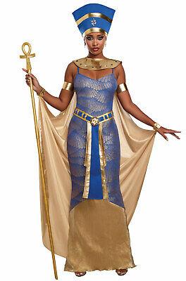 Royal Egyptian Pharaoh Queen Nefertiti Adult Costume