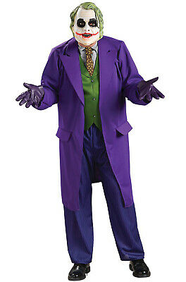 The Dark Knight Deluxe The Joker Plus Size Halloween Costume