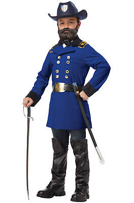 Boys Civil War Costume (Brand New Civil War Union President General Ulysses S. Grant Boys Child)