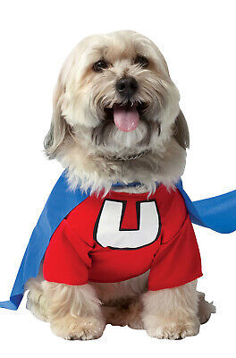 Brand New Superhero Underdog Dog Costume