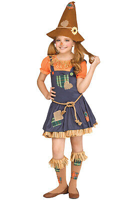 Brand New Sweet Scarecrow Girl Wizard of Oz Inspired Child Costume - Scarecrow Girl Costume