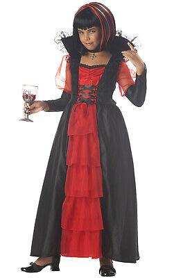Brand New Regal Princess Vampira Girls Child Halloween - Regal Vampira Kostüm