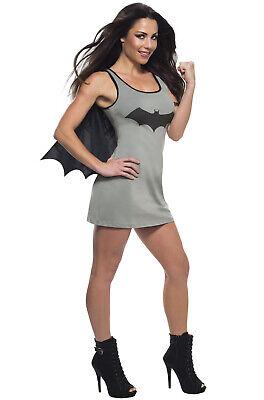 Brand New Superhero Batgirl Tank Dress Adult Costume](Batgirl New Costume)