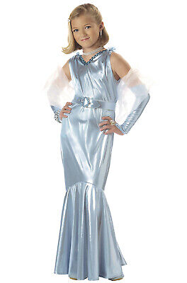 Brand New Glamorous Hollywood Movie Star Girl Child Costume](Movie Star Girls Costume)