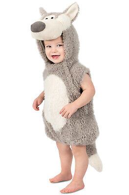 Brand New Wolfred Big Bad Wolf Toddler Costume - Wolf Toddler Costume