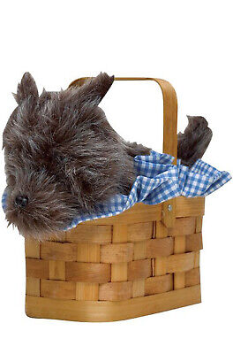 Brand New Wizard of Oz Doggie Basket Dorothy Costume Accessory](Wizard Of Oz Dogs)