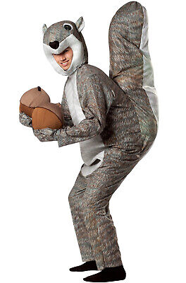 Cuddly Squirrel Animal Mascot Adult Costume - Rasta Imposta Squirrel Costume