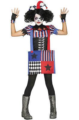 Jumpin Jack Joker Gothic Jack in the Box Child Costume Medium 8-10](Jack In The Box Costume)