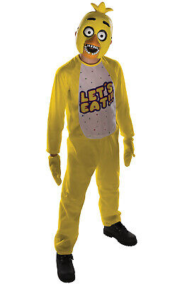 Five Nights at Freddy's Chica Child Costume](Girl Freddy Costume)