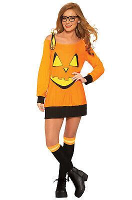 Preppy Pumpkin Adult Costume - Preppy Halloween Costumes