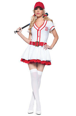 Brand New Home Run Honey Sexy Baseball Adult Costume