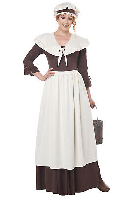 Colonial Village Woman Adult Costume