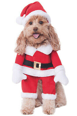Funy Walking Santa Chrismtas Pet Dog Costume - Funy Costumes